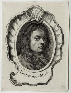 Jean François Millet (Francisque Milé), after Unknown artist - NPG D30433