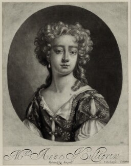 Anne Killigrew, by Isaac Beckett, published by  John Smith, after  Anne Killigrew - NPG D30437