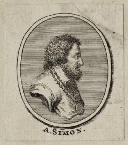 Abraham Simon, by George Vertue - NPG D30438
