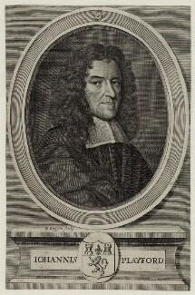 John Playford, by David Loggan, after  Unknown artist - NPG D30451