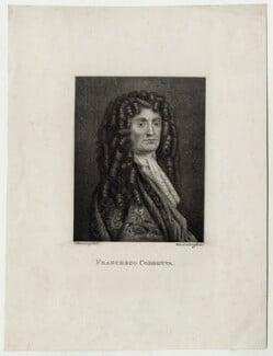 Francisco Corbetta (Francisque Corbette), by Ignatius Joseph van den Berghe, after  Silvester (Sylvester) Harding - NPG D30455