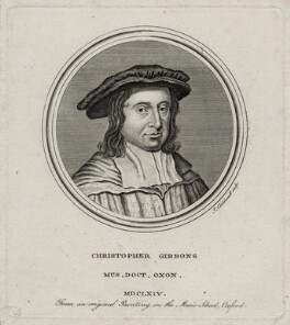 Christopher Gibbons, by James Caldwall, after  Unknown artist - NPG D30459