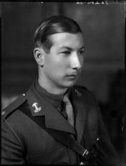Denis Anthony Brian Butler, 9th Earl of Lanesborough, by Bassano Ltd - NPG x154163