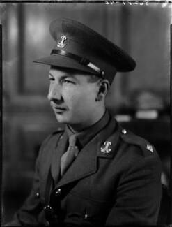 Denis Anthony Brian Butler, 9th Earl of Lanesborough, by Bassano Ltd - NPG x154164