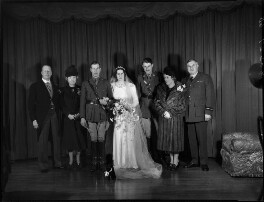 Wedding group of Lord and Lady Newtown Butler, by Bassano Ltd - NPG x154175