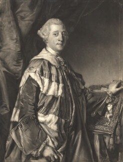 Granville Leveson-Gower, 1st Marquess of Stafford, by Edward Fisher, after  Sir Joshua Reynolds - NPG D9193