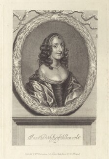 Anne Monck (née Clarges), Duchess of Albemarle, after Unknown artist, published by  William Richardson - NPG D30489