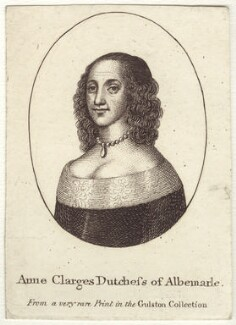 Anne Monck (née Clarges), Duchess of Albemarle, after Unknown artist - NPG D30490