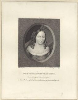 Mary Villiers (née Fairfax), Duchess of Buckingham, by Lambertus Antonius Claessens, after  Samuel Cooper - NPG D30492