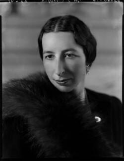Margaret Agnes Chetwynd (née Sutton), by Bassano Ltd - NPG x153074