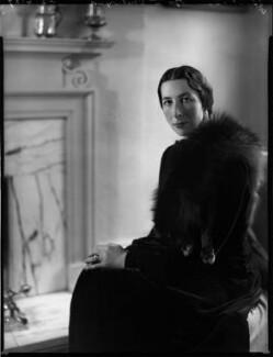 Margaret Agnes Chetwynd (née Sutton), by Bassano Ltd - NPG x153076