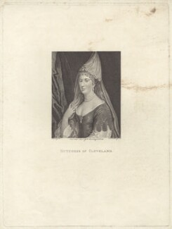 Barbara Palmer (née Villiers), Duchess of Cleveland, by Ignatius Joseph van den Berghe, published by  E. & S. Harding, after  Silvester Harding - NPG D30503