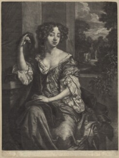 Louise de Kéroualle, Duchess of Portsmouth, by Paul van Somer, after  Sir Peter Lely, circa 1680 - NPG D30505 - © National Portrait Gallery, London