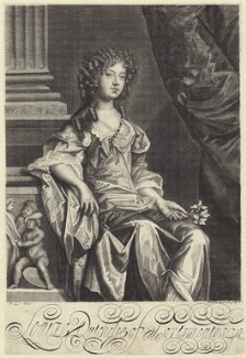 Louise de Kéroualle, Duchess of Portsmouth, by Edward Davis (Le Davis), after  Sir Peter Lely - NPG D30506