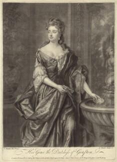 Isabella FitzRoy (née Bennet), Duchess of Grafton, by John Faber Jr, after  Sir Godfrey Kneller, Bt - NPG D30508