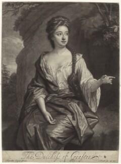 Isabella FitzRoy (née Bennet), Duchess of Grafton, by John Smith, after  Sir Godfrey Kneller, Bt - NPG D30511