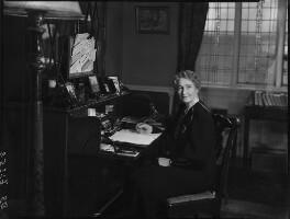 Augusta Helen Elizabeth (née Boyle), Viscountess Caldecote, by Bassano Ltd - NPG x154180