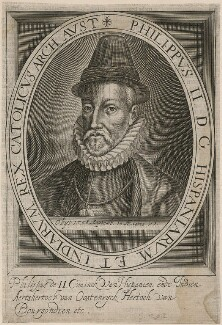 Philip II, King of Spain, after Alonso Sanchez Coello, early 17th century - NPG D32878 - © National Portrait Gallery, London