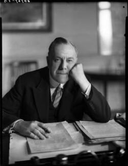 Frederick Montague, 1st Baron Amwell of Islington, by Bassano Ltd - NPG x154204