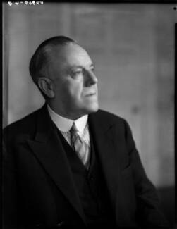 Frederick Montague, 1st Baron Amwell of Islington, by Bassano Ltd - NPG x154205