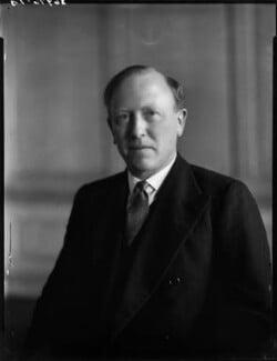 John Jestyn Llewellin, Baron Llewellin, by Bassano Ltd - NPG x154208