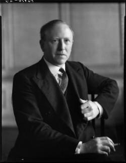John Jestyn Llewellin, Baron Llewellin, by Bassano Ltd - NPG x154209