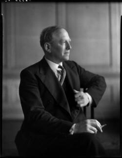 John Jestyn Llewellin, Baron Llewellin, by Bassano Ltd - NPG x154212