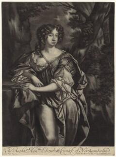 Elizabeth Montagu (née Wriothesley), Countess of Montagu, published by Alexander Browne, after  Sir Peter Lely - NPG D30519