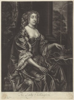 Isabella (née de Nassau), Countess of Arlington, after Sir Peter Lely, published by  Alexander Browne - NPG D30524