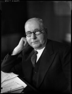 Sir Walter James Womersley, 1st Bt, by Bassano Ltd - NPG x154214
