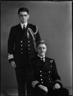 Sir Ronald Vernon Brockman; Henry Stafford Brockman, by Bassano Ltd - NPG x154217