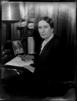 Margaret Eleanor (née Crosby), Lady Huntingfield, by Bassano Ltd - NPG x154249