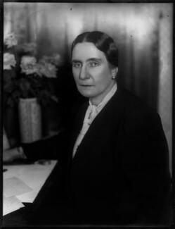 Margaret Eleanor (née Crosby), Lady Huntingfield, by Bassano Ltd - NPG x154251