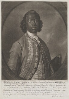 William Ansah Sessarakoo, by John Faber Jr, after  Gabriel Mathias - NPG D9199