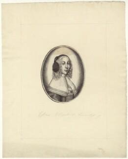Elizabeth Devereux (née Paulet), Countess of Essex, after Unknown artist - NPG D30532