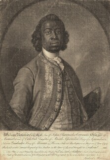 William Ansah Sessarakoo, by John Faber Jr, after  Gabriel Mathias - NPG D9200
