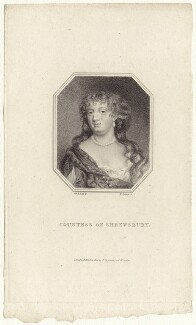 Anna Maria Talbot (née Brudenell), Countess of Shrewsbury, by Edward Scriven, after  Sir Peter Lely - NPG D30537