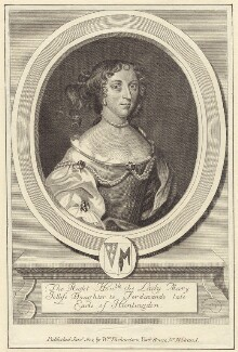 Lady Mary Jolliffe (née Hastings), after Robert White, published by  William Richardson - NPG D30539
