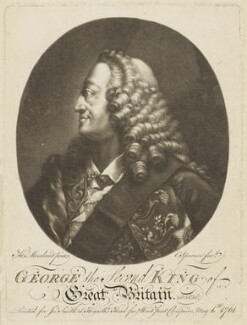 King George II, by Charles Spooner, after  Thomas Worlidge - NPG D9201