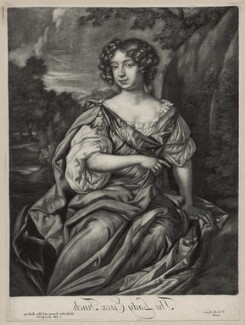 Essex Finch (née Rich), Countess of Nottingham, published by Alexander Browne, after  Sir Peter Lely - NPG D30540