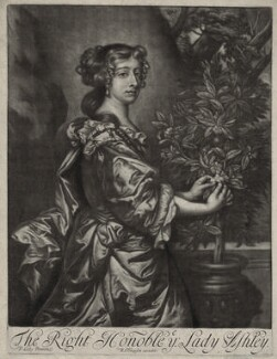 Dorothy Ashley-Cooper (née Manners), Countess of Shaftesbury, published by Richard Tompson, after  Sir Peter Lely - NPG D30541