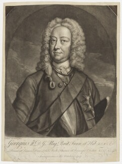 King George II, by John Faber Jr - NPG D9203