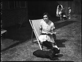 Mary Barbara Child-Villiers (née Frampton), by Bassano Ltd - NPG x153120
