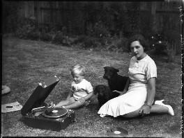 (Edward) John Mansel Hugh Frampton Child-Villiers; Mary Barbara Child-Villiers (née Frampton), by Bassano Ltd - NPG x153122
