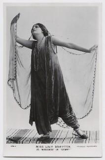 Lily Brayton as Marsinah in 'Kismet', by Rita Martin, published by  J. Beagles & Co - NPG x131476
