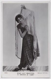 Lily Brayton as Marsinah in 'Kismet', by Rita Martin, published by  J. Beagles & Co - NPG x131477
