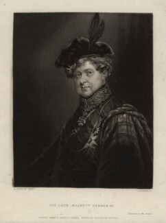 King George IV, by John Rogers, after  A.M. Huffam - NPG D9207
