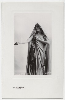Lily Brayton as Ildico in 'Attila', by Rita Martin, published by  The Philco Publishing Co - NPG x131483