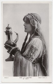 Lily Brayton as Iseult in 'Tristram and Iseult', by Rita Martin, published by  Rotary Photographic Co Ltd - NPG x131486