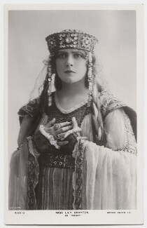 Lily Brayton as Iseult in 'Tristram and Iseult', by Rita Martin, published by  Rotary Photographic Co Ltd - NPG x131487